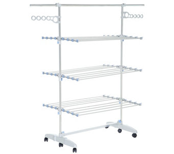 Nobly Foldable Drying Rack System With Extension Poles   V35324