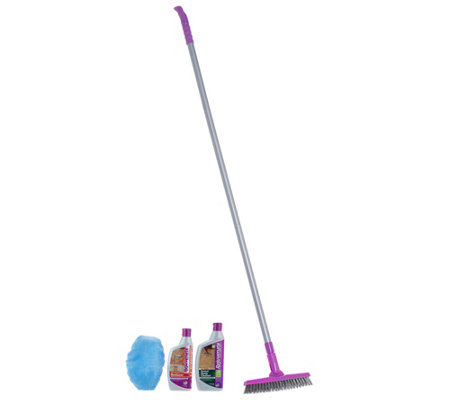 Rejuvenate Deep Clean Grout Care Kit with Brush & Application Mop
