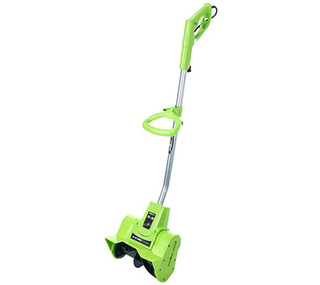"""As Is"" Earthwise 9 AMP Corded Electric 10"" Snow Thrower"