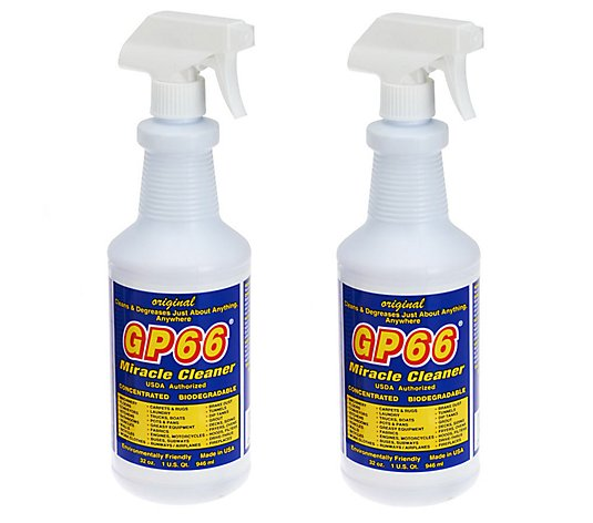 Gp66 Set Of 2 Super Size Green Miracle Cleaner De Qvc