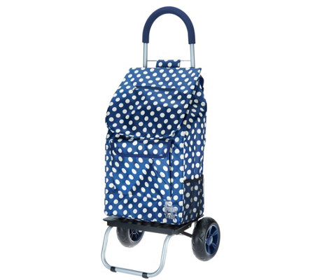 Trolley Dolly Polka Dot Collection Collapsible Cart