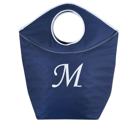 Pursfection Multi-Purpose XL Monogrammed Collapsible Tote Bag