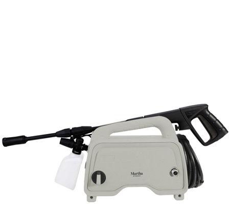 Martha Stewart 1200 PSI Pressure Washer with Adjustable Spray Wand — QVC com