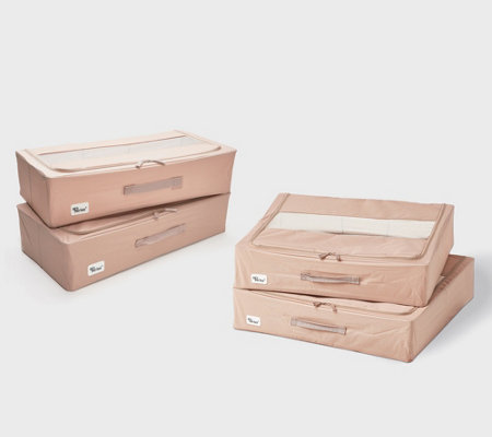 Periea Set of 2 Multi-Use Collapsible Storage Boxes