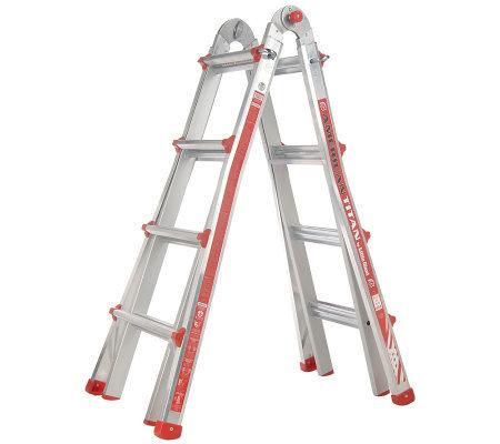 Little Giant 24 In 1 Multi Function 17 Ladder With Leg Leveler