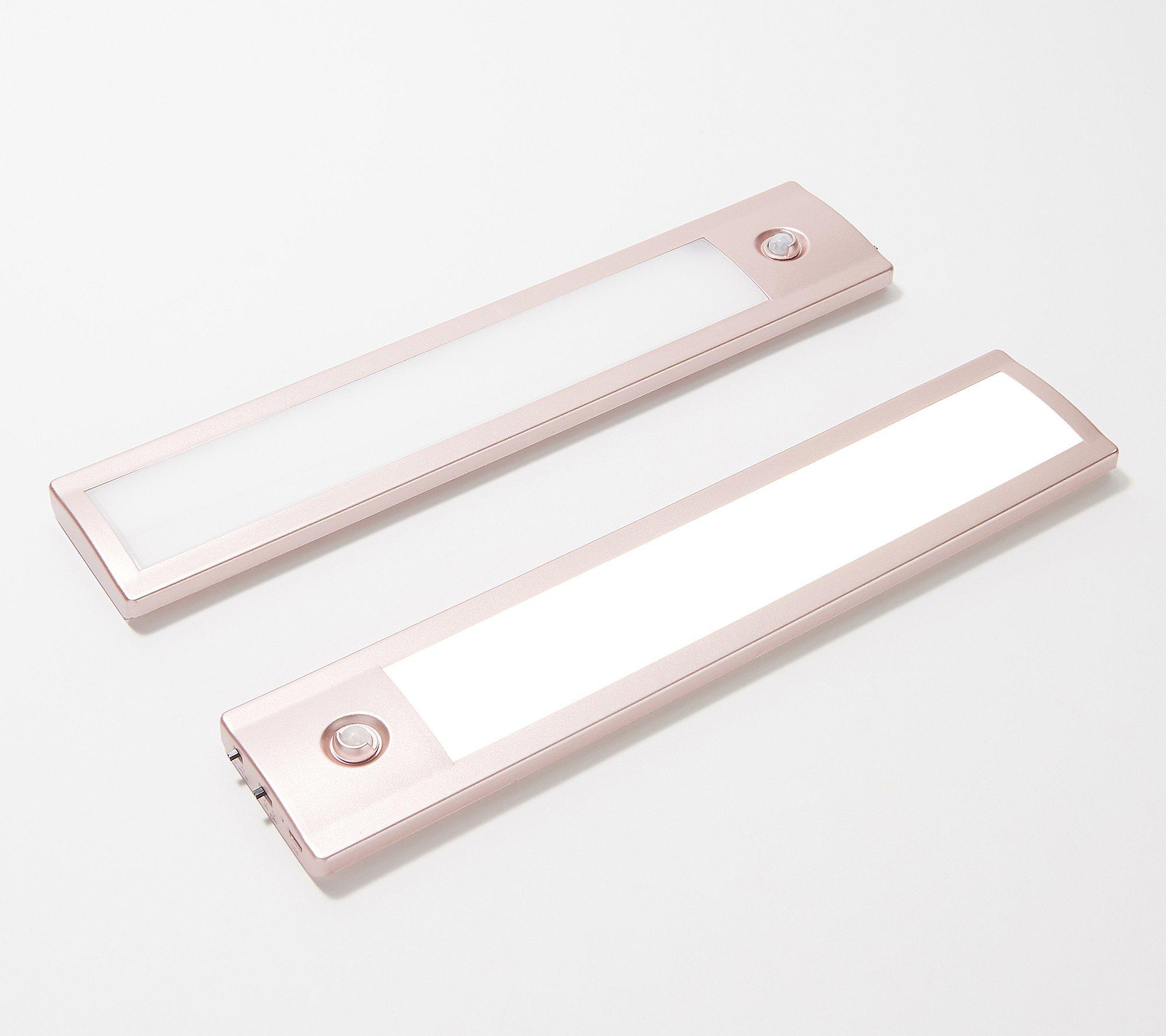 "2-Pack Good Earth S/2 Color-Changing Under Cabinet 12"" LED Lights"