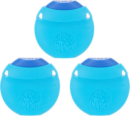 Disc-O-Click Set of 3 Mosquito Bite Relief Device