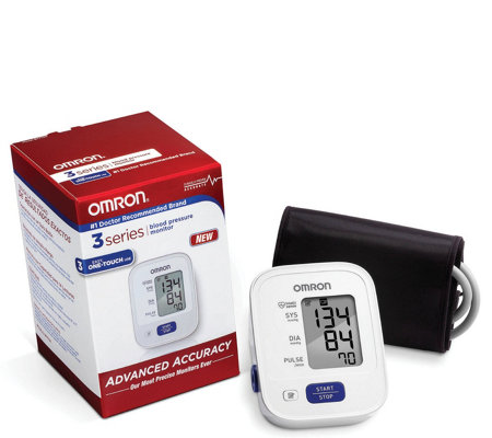 Omron Advanced-Accuracy Upper-Arm Blood Pressure Monitor