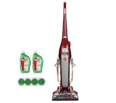 hard floor cleaner hoover floormate deluxe floor cleaner w scrubmode 12633