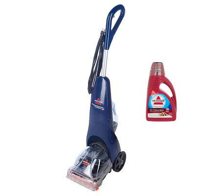 bissell quicksteamer powerbrush deep cleaner w 24 oz formula rh qvc com bissell quicksteamer powerbrush directions bissell quicksteamer powerbrush manual 2080
