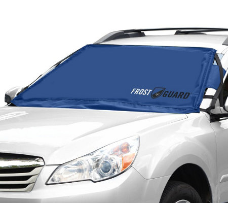 FrostGuard Windshield and Wiper Cover With Security Feature