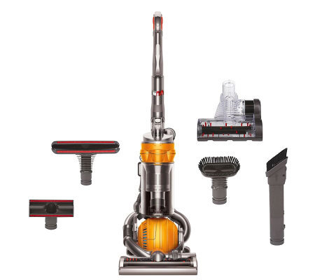 dyson dc25 multifloor upright ball vacuum w 5 attachments page 1 rh qvc com Purchase Dyson Vacuum Filter Toy Dyson Upright Vacuum