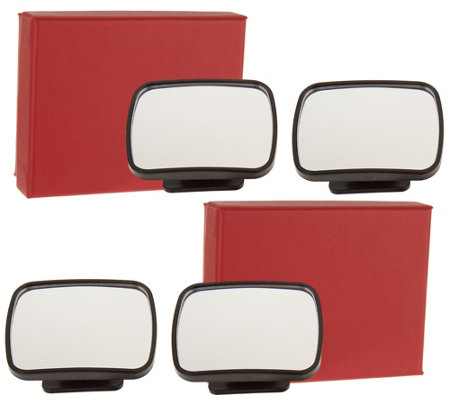 SecureAuto 2 Sets of 2 Blind Spot Mirrors