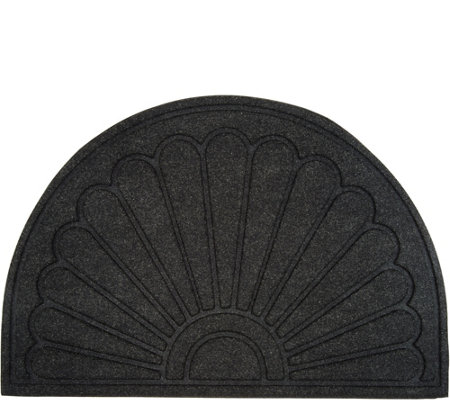 Aqua Hog Indoor/Outdoor 2'x3' Sunburst Door Mat with Rubber Backing