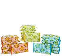 Scour Daddy Set of 18 Multi-Color Sponges by Scrub Daddy - V36047