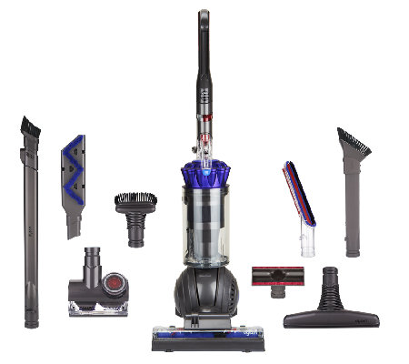 Image of: Qvc Dyson Dc65 Animal Ball Upright Vacuum With Attachments Qvccom Dyson Dc65 Animal Ball Upright Vacuum With Attachments Qvccom