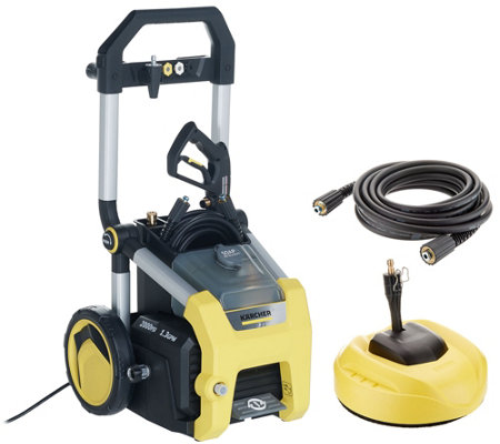 "Karcher PSI 2000 Pressure Washer with 11"" Surface Cleaner"