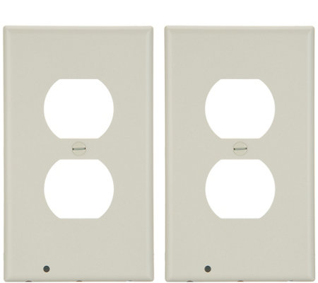 Snappower Set Of 2 Guidelight Outlet Coverplates