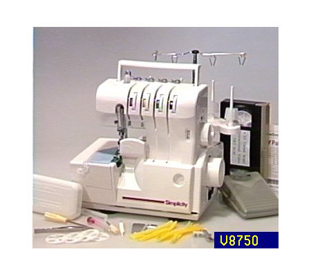 Simplicity Serger With 3 Patterns And Video Qvc