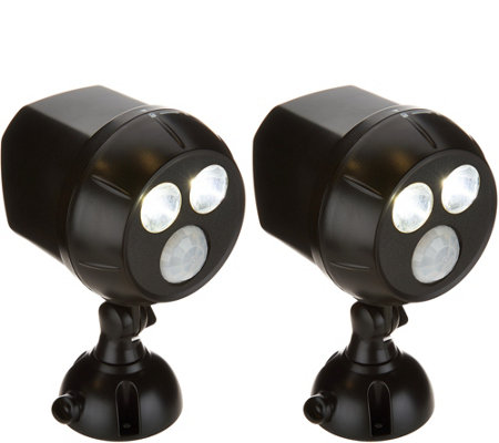 Mr Beams S/2 450 Lumen Ultra Bright Security Motion Sensor Spotlights