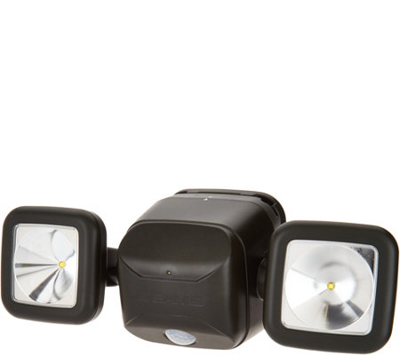 Mr Beams Dual Head Motion Sensor Security Spotlight
