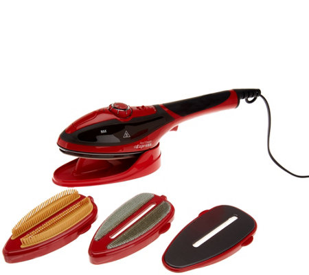 Red Steam Express 2-in-1 Iron and Steamer