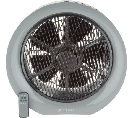 "Bionaire 12"" Fan with Rotating Grill and Remote Control"