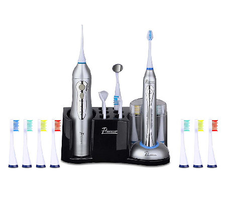 Pursonic Deluxe Home Dental Center Electric Toothbrush Set
