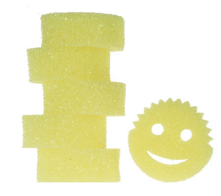 Scrub Daddy Set of 6 Flex Texture Scratch Free CleaningSponges