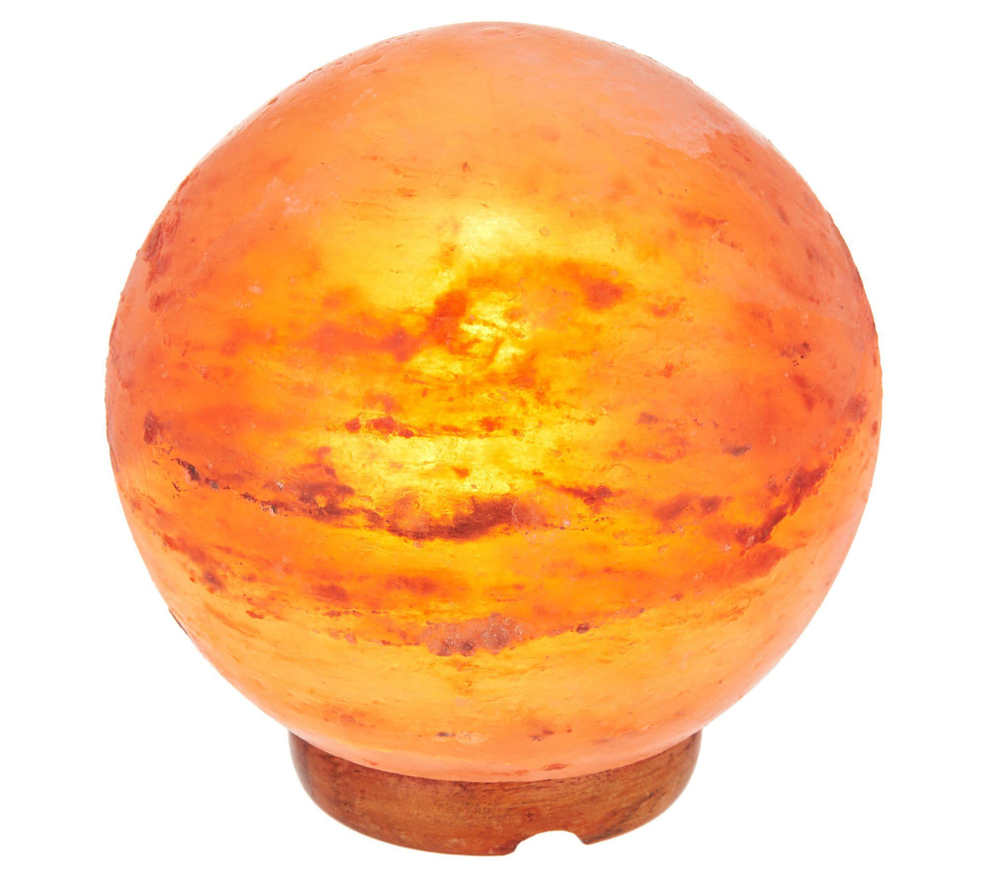 Take 48% off a Himalayan salt crystal globe light