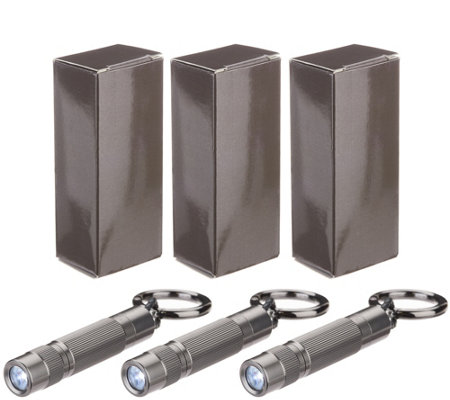 HALO Set of 3 Mini-Lite Flashlights