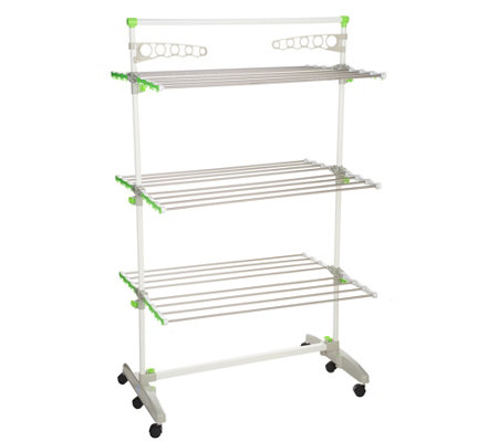 The Green Rack Hi Capacity Foldable Drying Rack Storage System