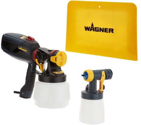 Wagner Flexio Paint Sprayer with Detail Finish Nozzle & Spray Shield