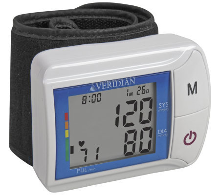 Veridian Wrist Digital Blood Pressure Monitor
