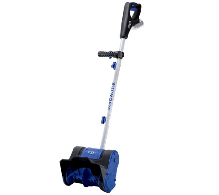 "Snow Joe iON 24V Cordless Rechargeable 10"" Snow Thrower"
