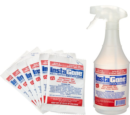 Instagone Set of 6 Super-Size Stain Remover & 22oz. Bottle
