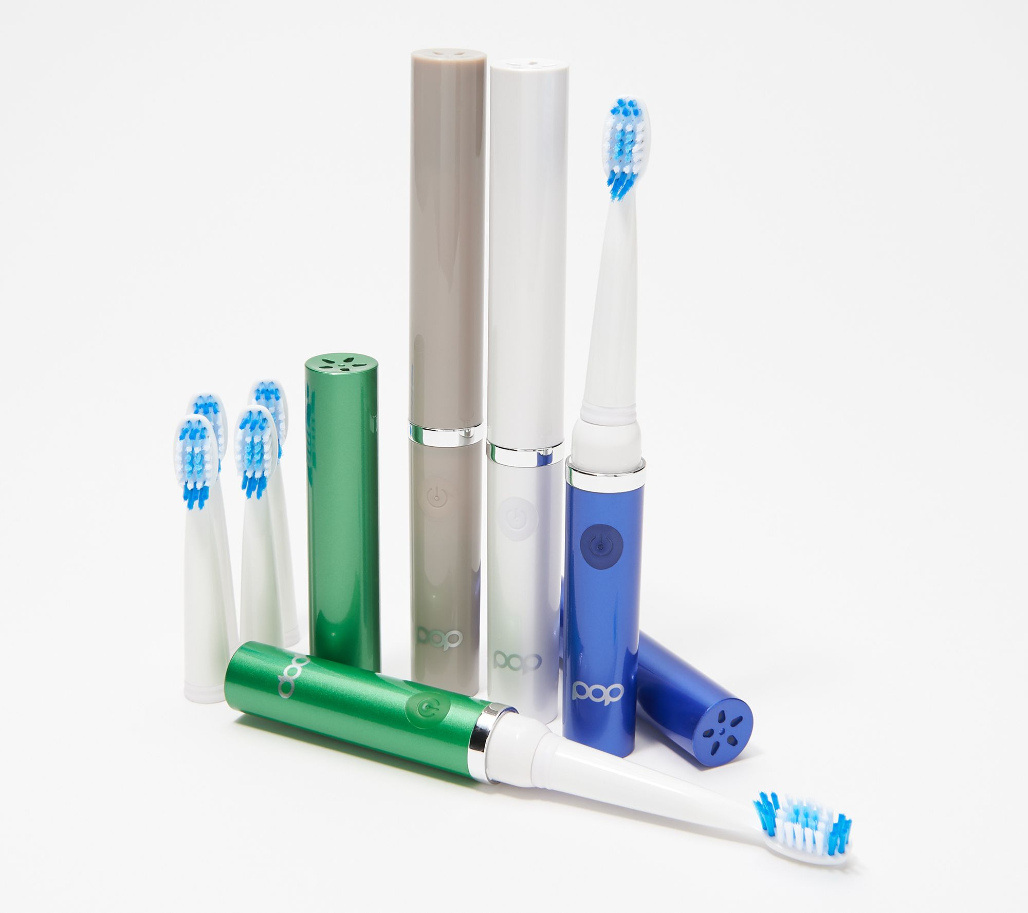 On-the-go electric toothbrushes