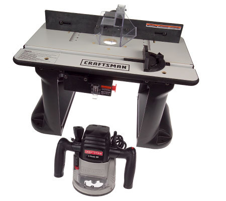 Craftsman 2 Hp Router And Table Kit Page 1 Qvc