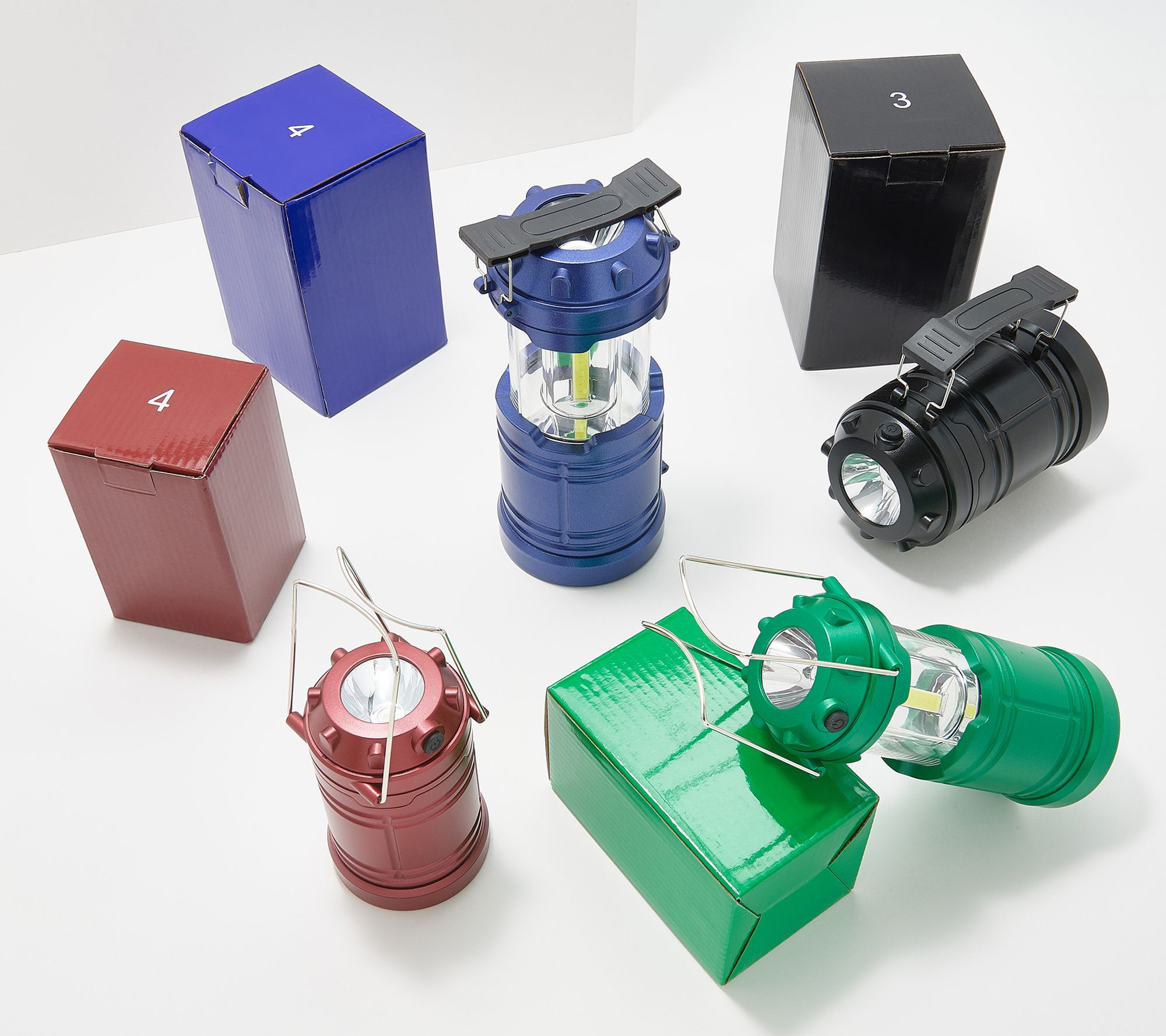 17% off a set of 2 large and 2 mini lanterns