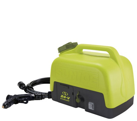 Sun Joe 24V Portable Clean Anywhere Spray Washer w/ 5 Gallon Tank