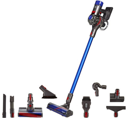 dyson v8 absolute cordless vacuum with 8 tools hepa filtration page 1. Black Bedroom Furniture Sets. Home Design Ideas