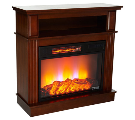 "Duraflame 32"" Fireplace with Wide Media Mantel"