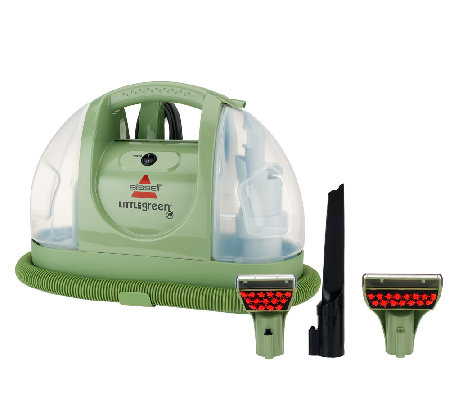 bissell little green machine bissell green portable cleaner w accessories 29269