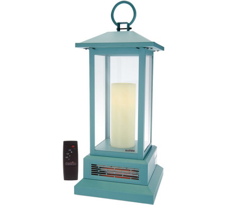"Duraflame 28-3/4"" Electric Lantern with Infrared Heat"