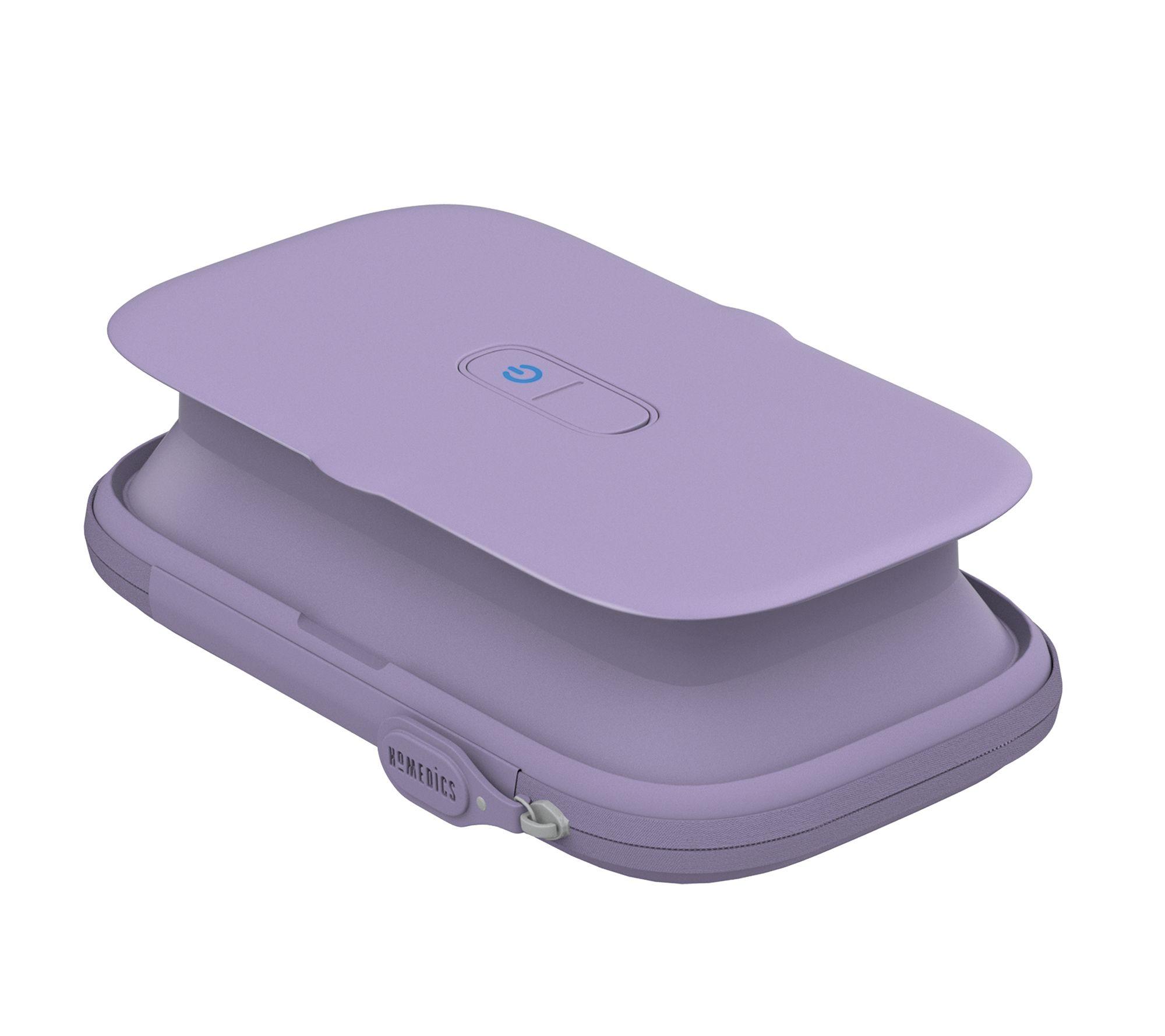 HoMedics UV Clean Pop-up On-the-Go Phone Sanitizer Case - QVC.com
