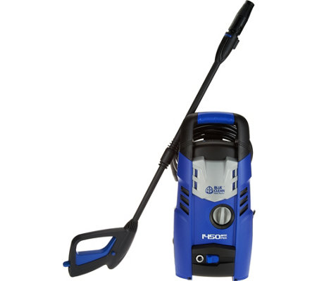 Blue Clean 1450 PSI Pressure Washer with Adjustable Spray Nozzle