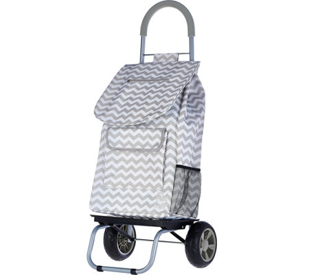 Trolley Dolly 2-in-1 Folding Cart w/Carry Strap & Dolly