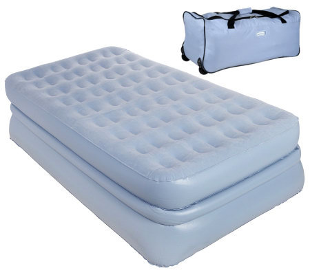 Supreme AeroBed Twin Raised Bed w/Hands-Free Pump