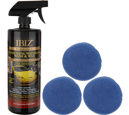 Ibiz 32oz. World Class Waterless Car Wash & Wax