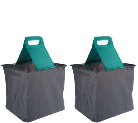 Clevermade Set of 2 SnapBasket Foldable Trunk Caddy